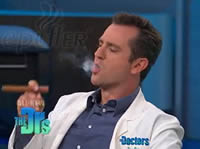 ePuffer Electronic Cigar on The Doctor's TV Show