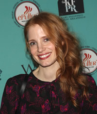 Jessica Chastain wants to help her grandma to stay away from tobacco