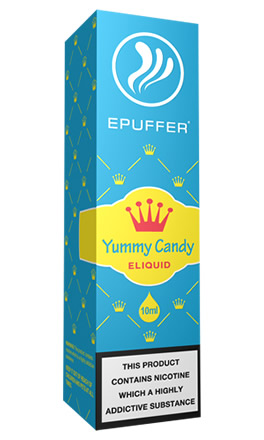 eliquid yammy candy tpd ready