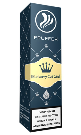 Blueberry custard tpd ready eliquid
