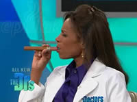 ePuffer ECIGAR 1800 Electronic Cigar on The Doctor's TV Show