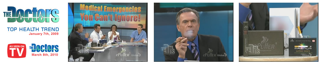 epuffer ecigarettes on the doctors