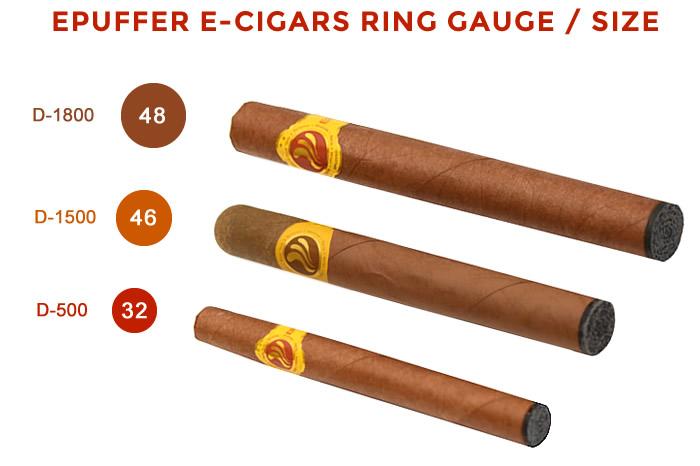 electronic cigar ecigar gauge ring sizes