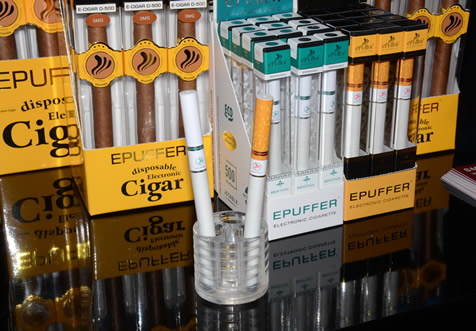 ePuffer Retail Electronic Cigarette product line
