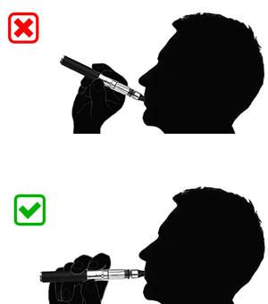 how to properly hold and use epuffer phantom liquamizer