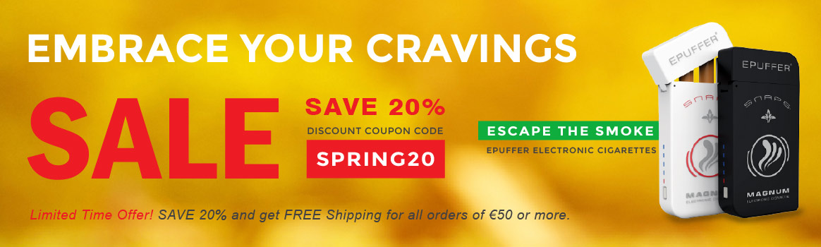 embrace your cravings using epuffer ecigarettes